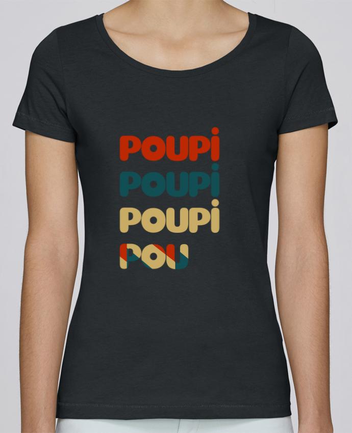 T-shirt Femme Stella Loves Poupi Poupi Poupi Pou par Le petit monde de Kélyan