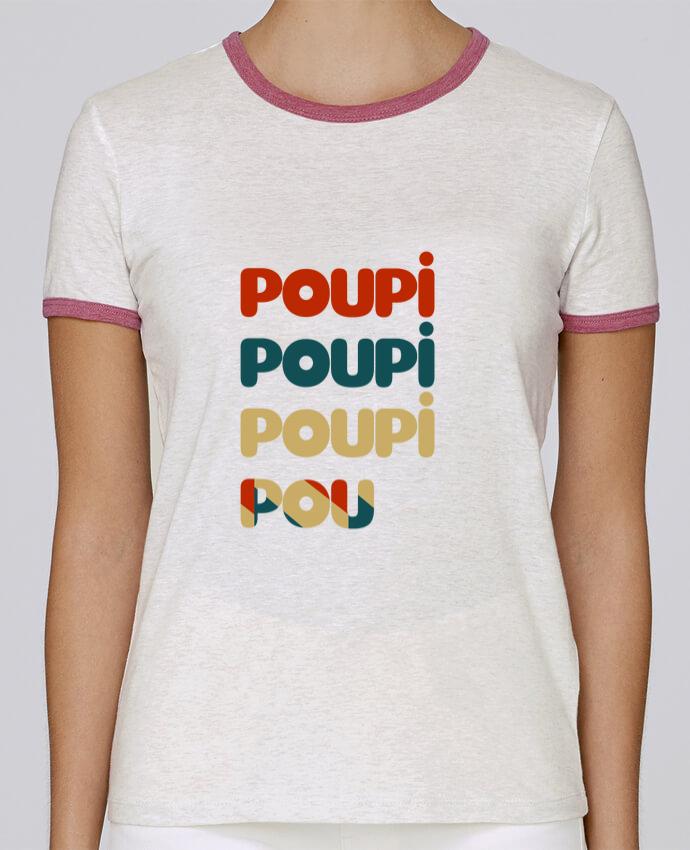 T-shirt Femme Stella Returns Poupi Poupi Poupi Pou pour femme par Le petit monde de Kélyan