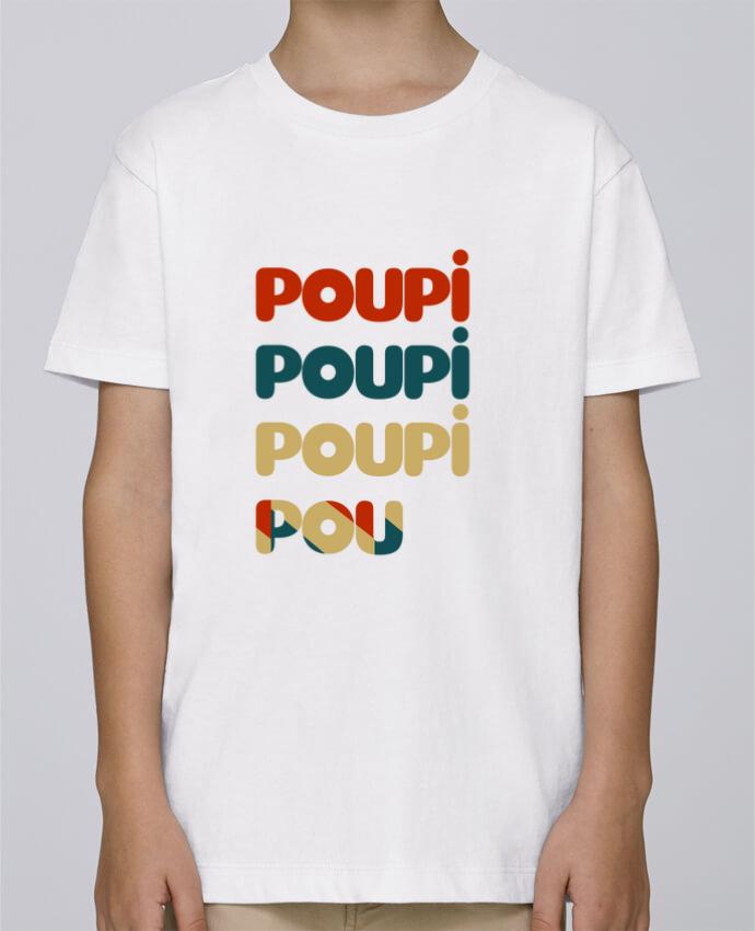 Tee Shirt Garçon Stanley Mini Paint Poupi Poupi Poupi Pou par Le petit monde de Kélyan