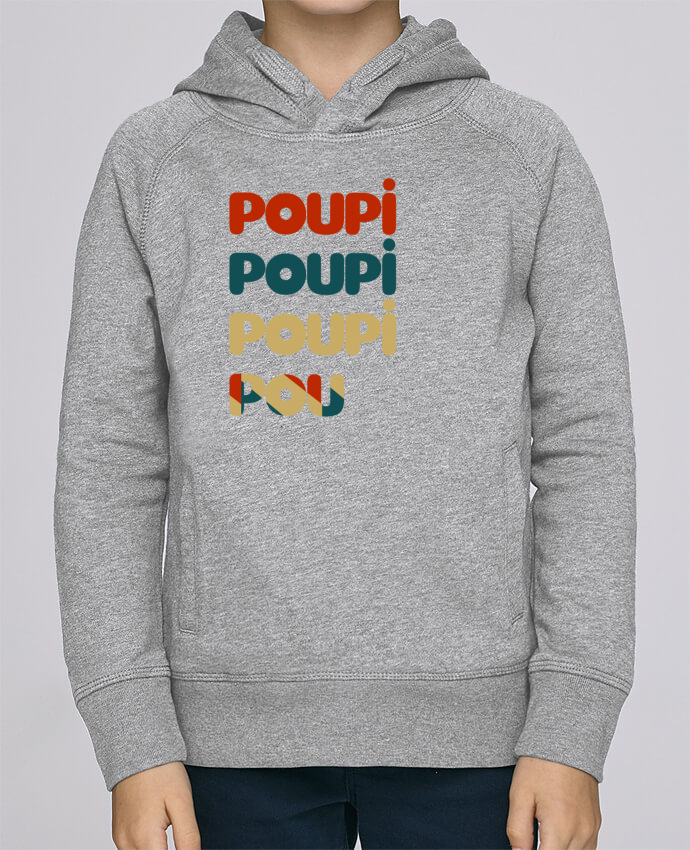 Sweat à Capuche Enfant Stanley Mini Base Poupi Poupi Poupi Pou par Le petit monde de Kélyan