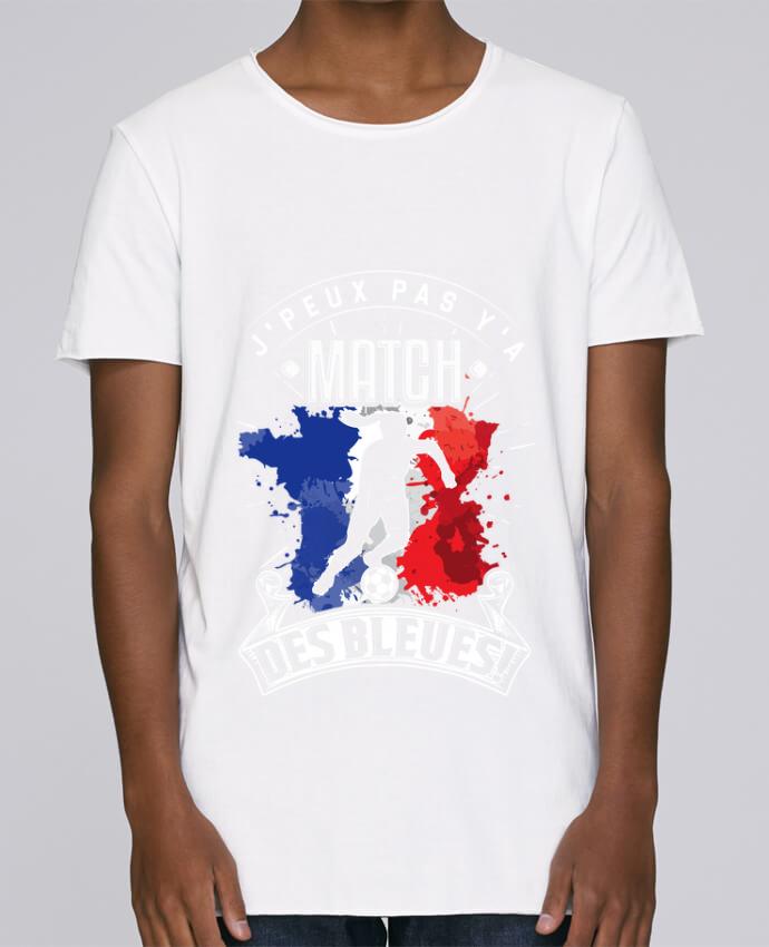 T-shirt Homme Oversized Stanley Skates Footballeuse - Equipe de France féminine de football - Coupe du mo