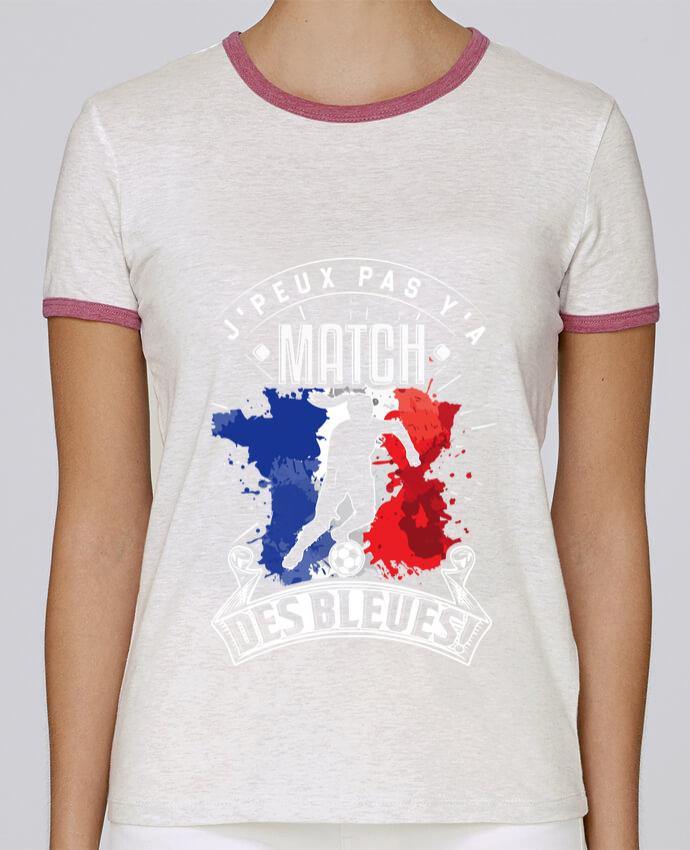 T-shirt Femme Stella Returns Footballeuse - Equipe de France féminine de football - Coupe du monde - J'peux pas y'a mat