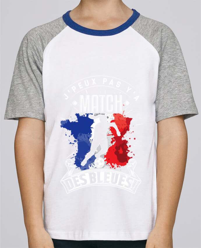 Tee-Shirt Enfant Stanley Mini Jump Short Sleeve Footballeuse - Equipe de France féminine de football - Coupe du monde - J