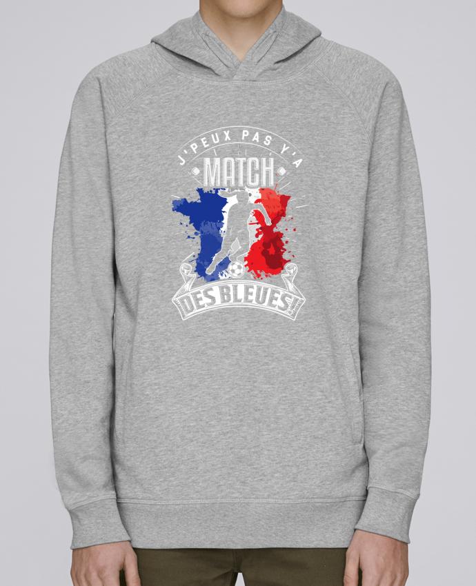 Sweat Capuche Homme Stanley Base Footballeuse - Equipe de France féminine de football - Coupe du monde - J'peux