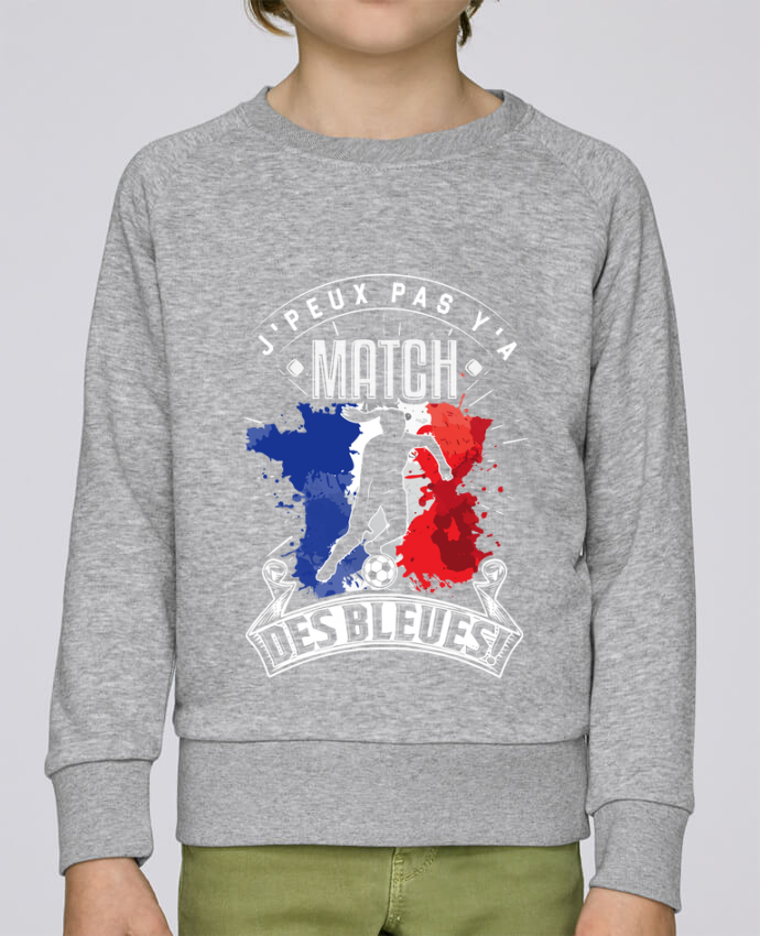 Sweat Col Rond Enfant Stanley Mini Scouts Footballeuse - Equipe de France féminine de football - Coupe du monde - J