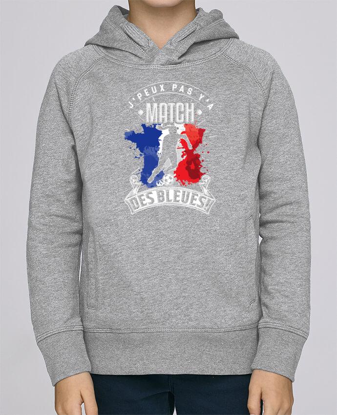 Sweat à Capuche Enfant Stanley Mini Base Footballeuse - Equipe de France féminine de football - Coupe du monde - J'peux pas y