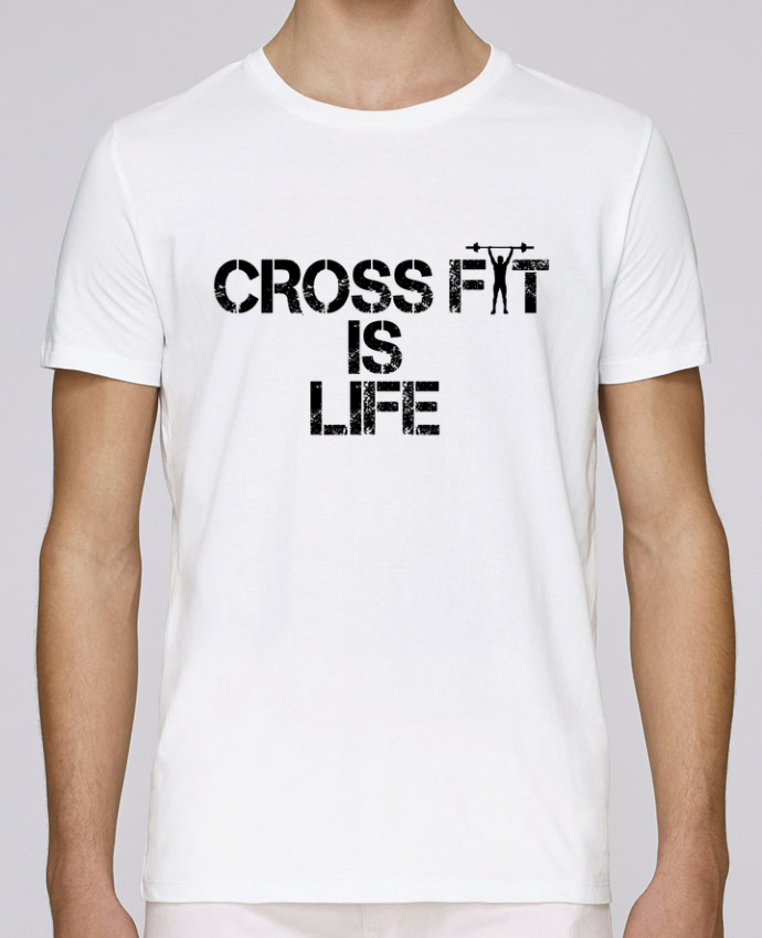T-Shirt Col Rond Stanley Leads Crossfit is life par tunetoo