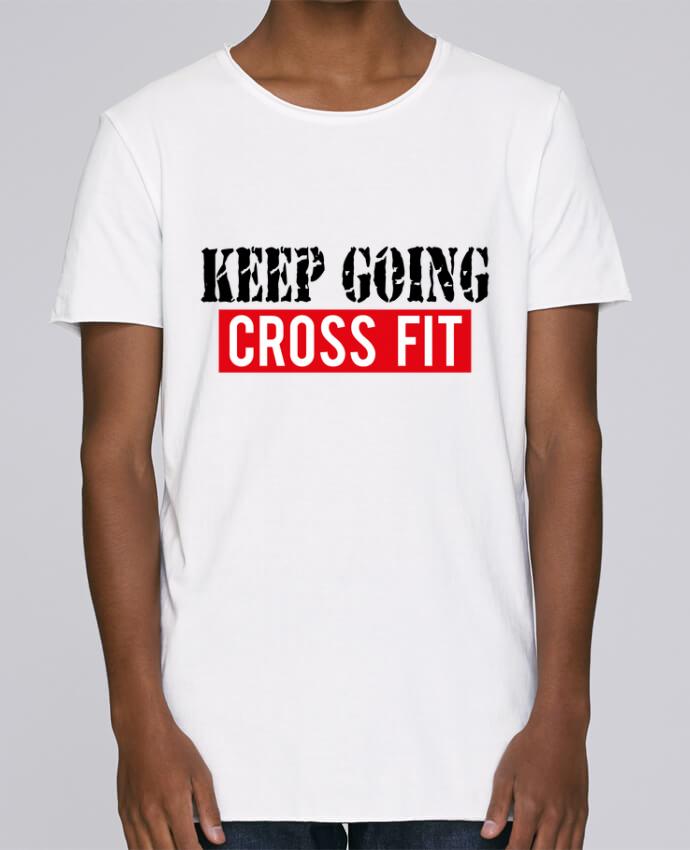 T-shirt Homme Oversized Stanley Skates Keep going ! Crossfit par tunetoo