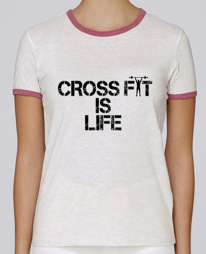 T-shirt Femme Stella Returns Crossfit is life pour femme par tunetoo
