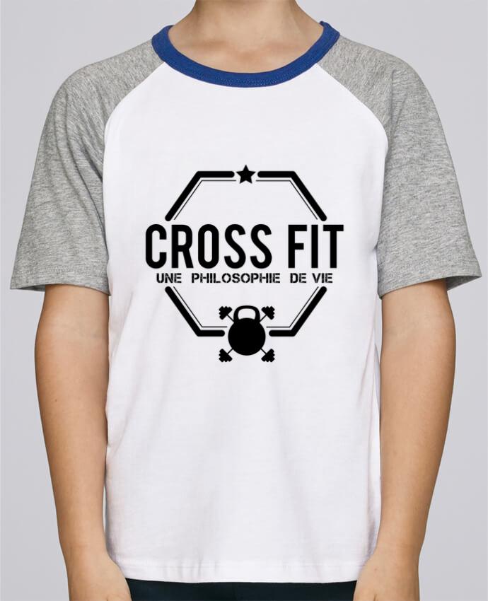 Tee-Shirt Enfant Stanley Mini Jump Short Sleeve Crossfit une philosophie de vie par tunetoo