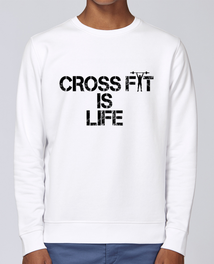 Sweat Col rond Unisex Stanley Stella Rise Crossfit is life par tunetoo