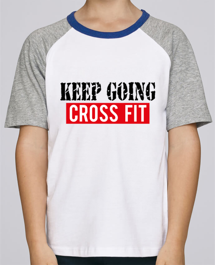 Tee-Shirt Enfant Stanley Mini Jump Short Sleeve Keep going ! Crossfit par tunetoo