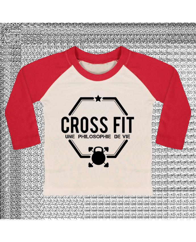 T-shirt Bébé Baseball Manches Longues Crossfit une philosophie de vie par tunetoo
