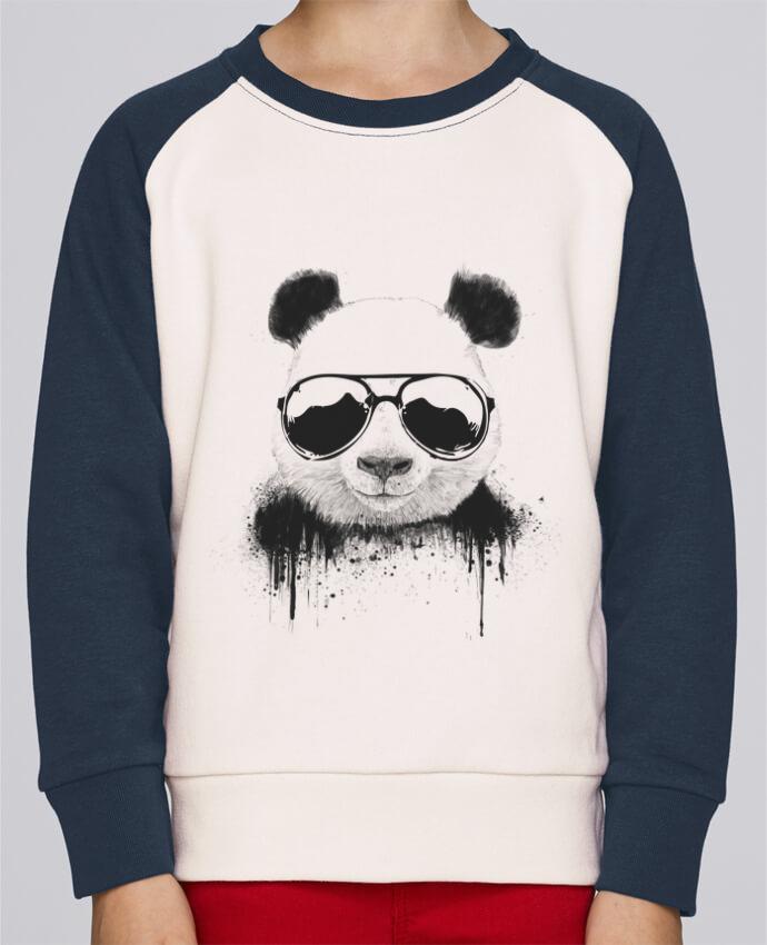 Sweat Shirt Col Rond Enfant Stanley Mini Contrast Stay Cool par Balàzs Solti