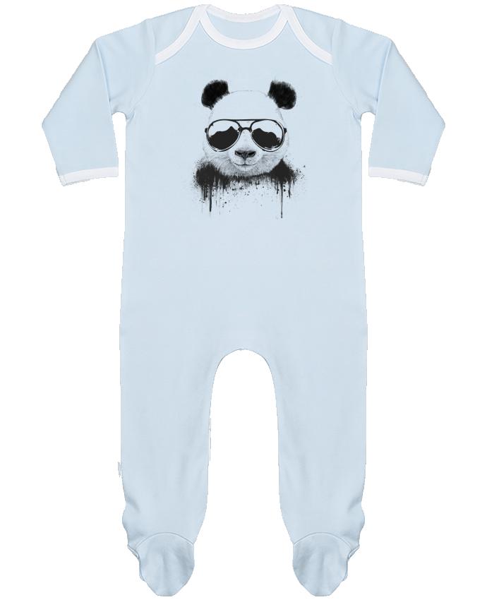 Pyjama Bébé Manches Longues Contrasté Stay Cool par Balàzs Solti