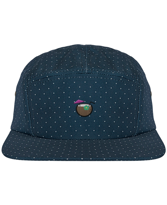 Casquette 5 Panel à Pois Cocktail coco par tunetoo