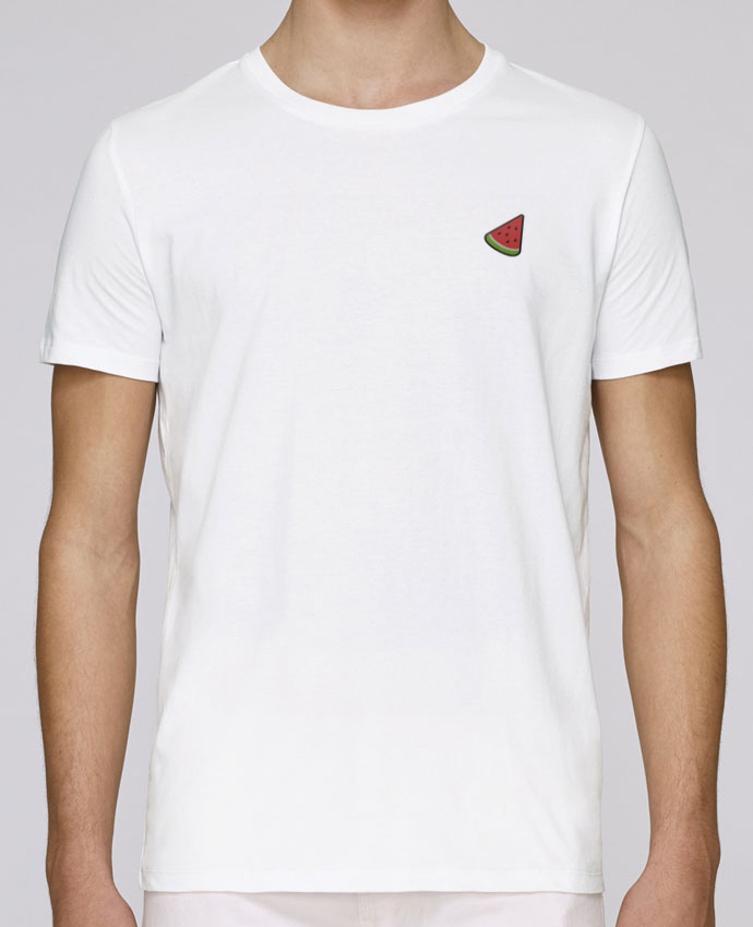 T-Shirt Col Rond Stanley Leads brodé Watermelon par tunetoo