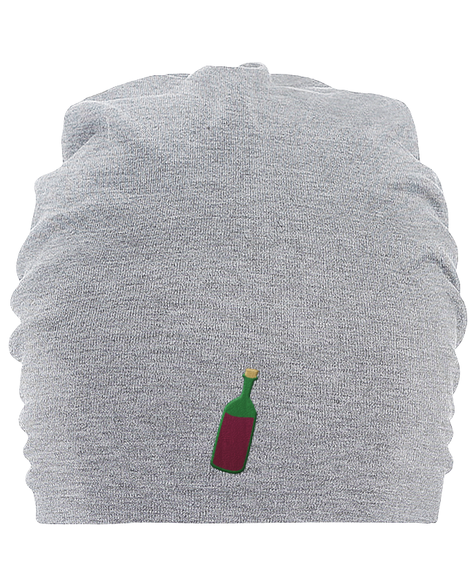Bonnet oversize en coton Hemsedal Wine bottle par tunetoo