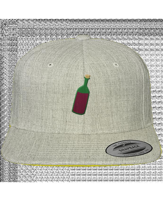 Casquette Snapback Classique Wine bottle par tunetoo