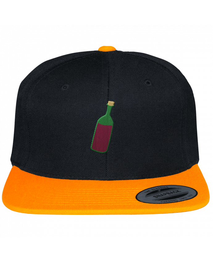 Casquette Snapback Bicolore Varsity Wine bottle par tunetoo