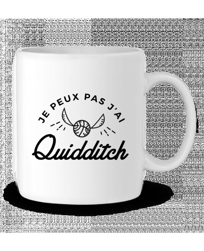 Mug en Céramique Je peux pas j'ai Quidditch par Nana
