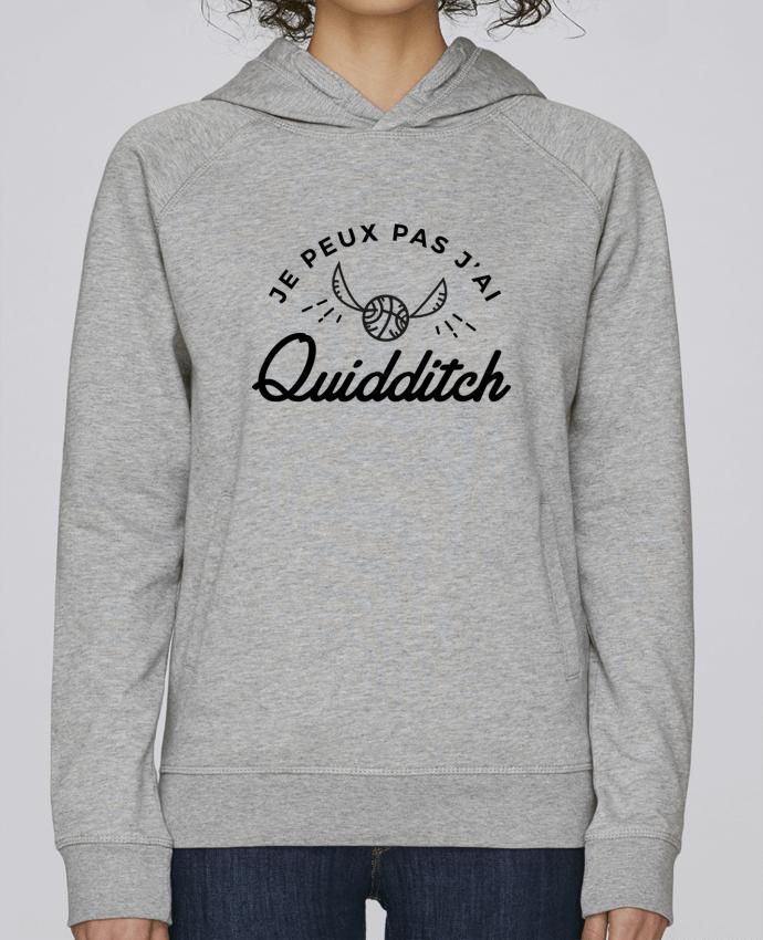 Sweat Capuche Femme Stanley Base Je peux pas j'ai Quidditch par Nana