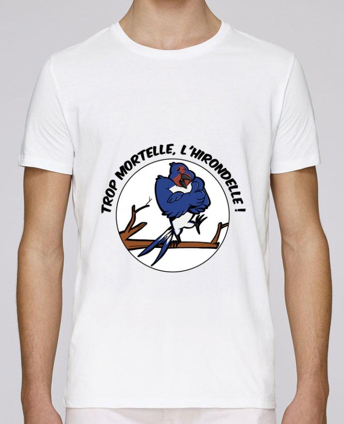 T-Shirt Col Rond Stanley Leads Trop mortelle l'hirondelle par Tomi Ax - tomiax.fr