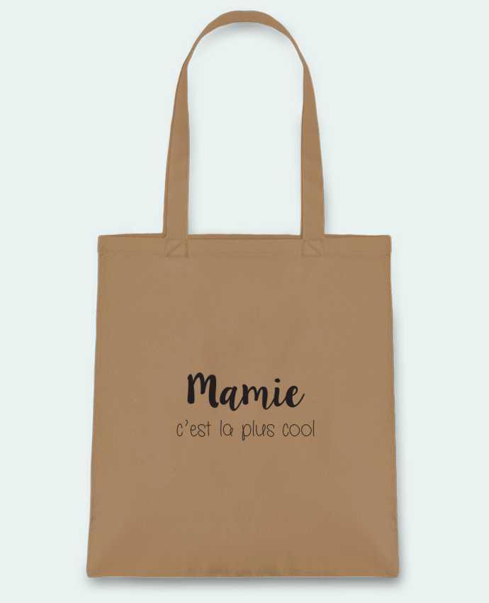 Tote-bag Mamie c'est la plus cool par Mila-choux