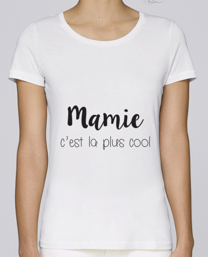 T-shirt Femme Stella Loves Mamie c'est la plus cool par Mila-choux
