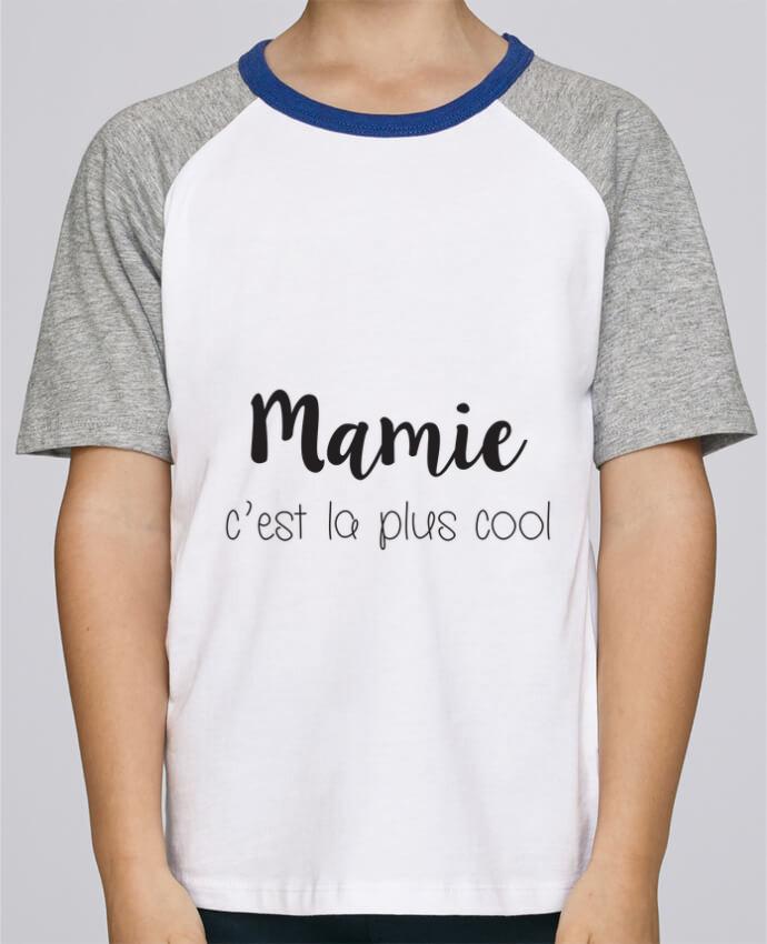 Tee-Shirt Enfant Stanley Mini Jump Short Sleeve Mamie c'est la plus cool par Mila-choux