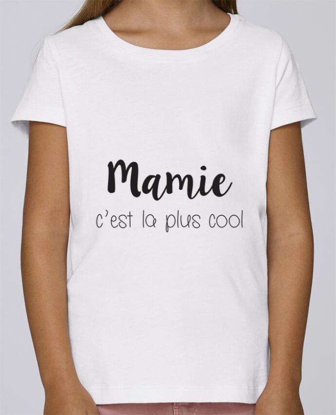 T-shirt Fille Mini Stella Draws Mamie c'est la plus cool par Mila-choux