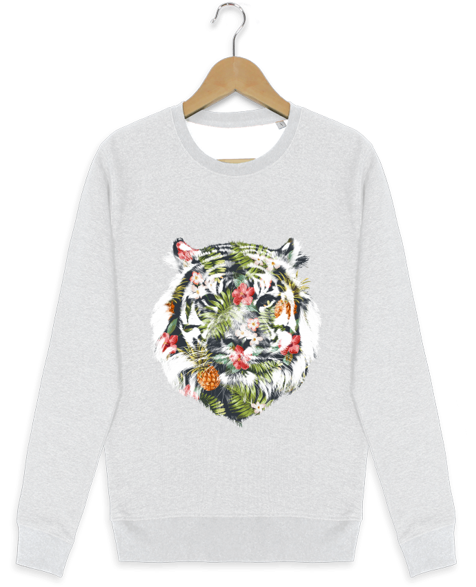 Sweat-shirt Stanley stella modèle seeks Tropical tiger par robertfarkas
