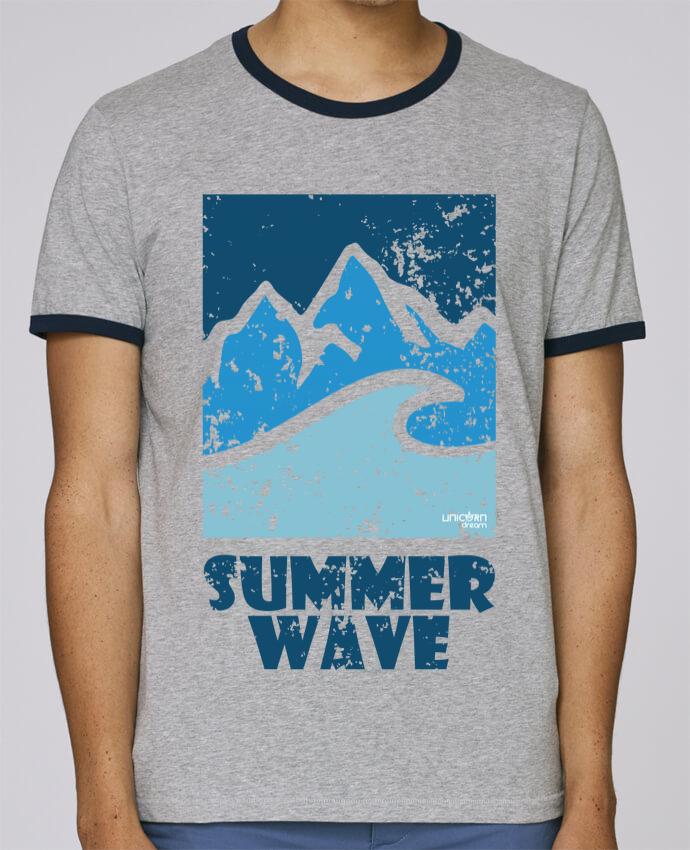 T-Shirt Ringer Contrasté Homme Stanley Holds SummerWAVE-02 pour femme par Marie