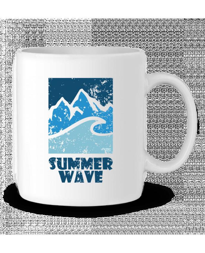 Mug en Céramique SummerWAVE-02 par Marie