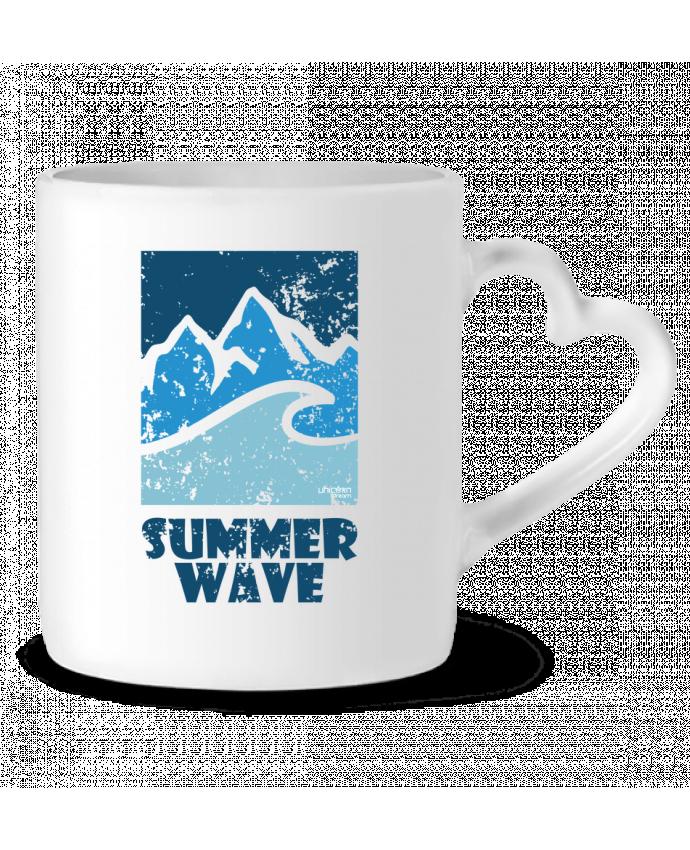 Mug Coeur SummerWAVE-02 par Marie