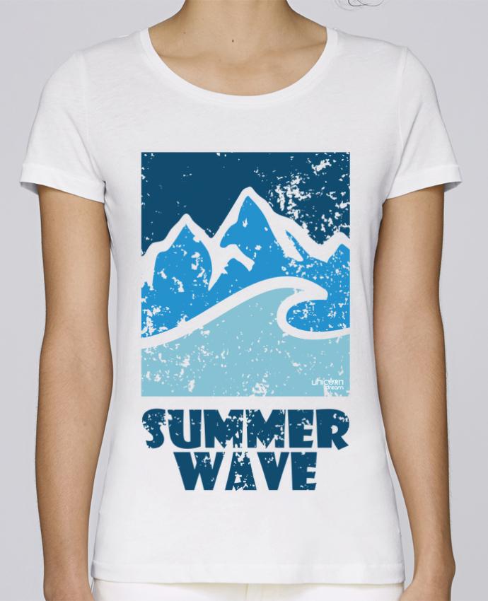 T-shirt Femme Stella Loves SummerWAVE-02 par Marie