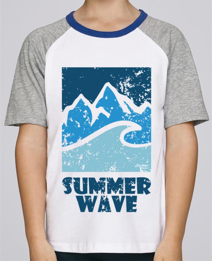 Tee-Shirt Enfant Stanley Mini Jump Short Sleeve SummerWAVE-02 par Marie