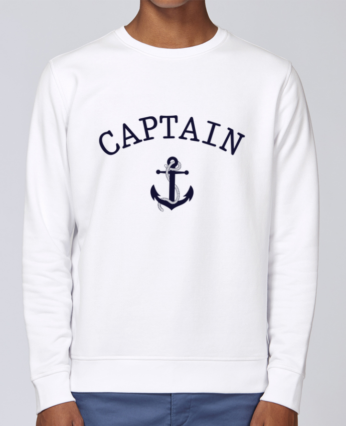 Sweat Col rond Unisex Stanley Stella Rise Capitain and first mate par tunetoo