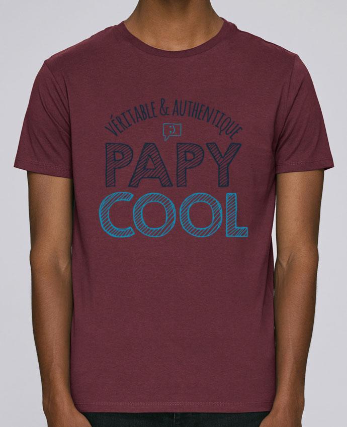 T-Shirt Col Rond Stanley Leads Véritable et authentique papy cool par tunetoo