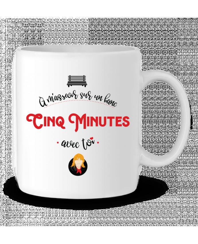 Mug en Céramique RENAUD 5 MINUTES AVEC TOI par PTIT MYTHO