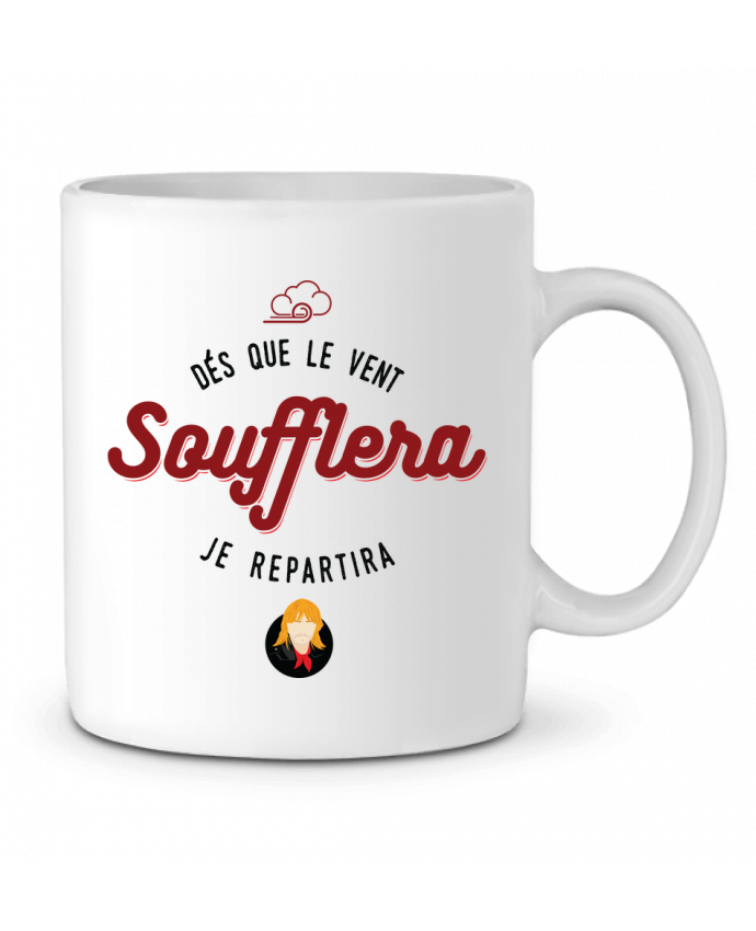 Mug  RENAUD DES QUE LE VENT SOUFFLERA JE REPARTIRA par PTIT MYTHO