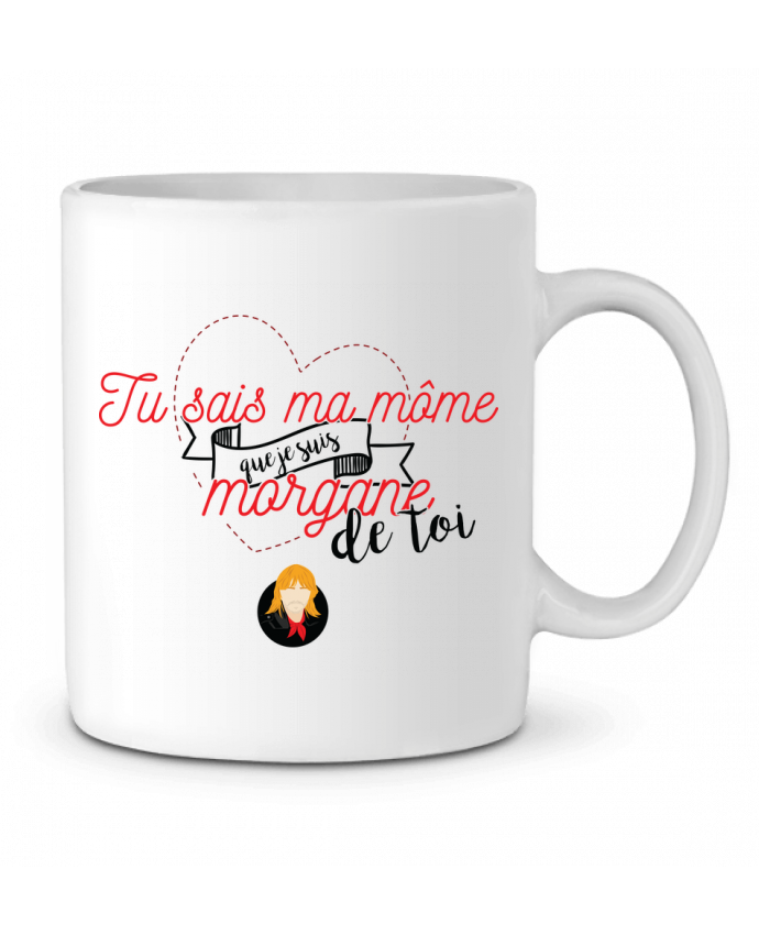 Mug en Céramique RENAUD MORGANE DE TOI par PTIT MYTHO