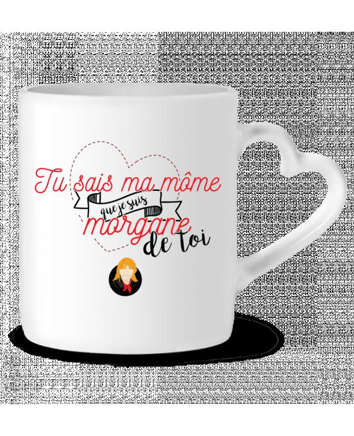 Mug Coeur RENAUD MORGANE DE TOI par PTIT MYTHO