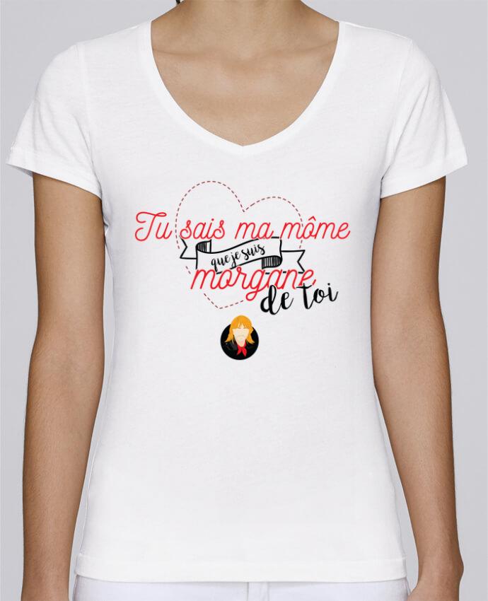 T-shirt Femme Col V Stella Chooses RENAUD MORGANE DE TOI par PTIT MYTHO