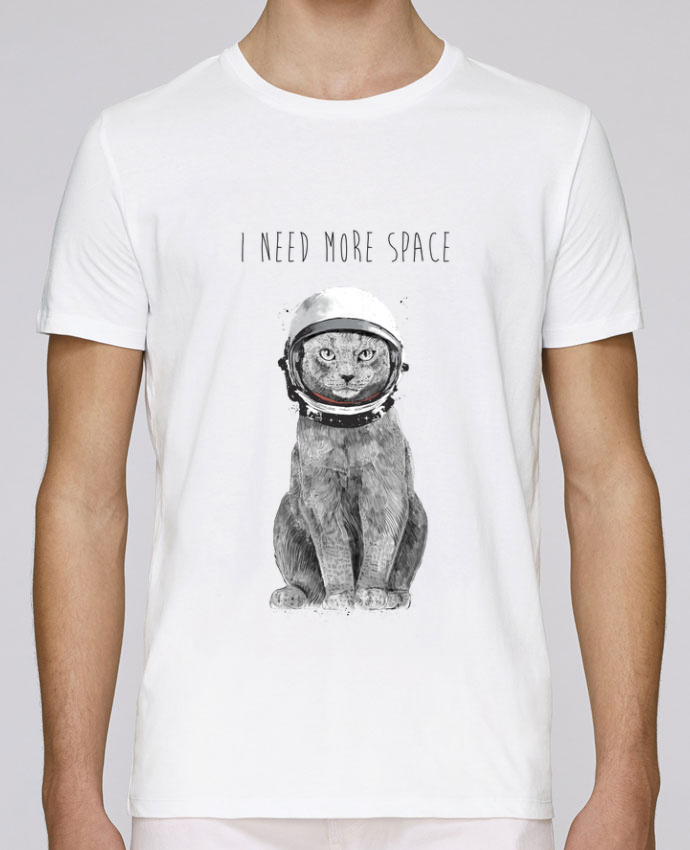 T-Shirt Col Rond Stanley Leads I need more space par Balàzs Solti