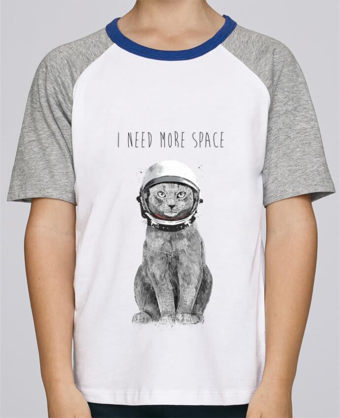 Tee-Shirt Enfant Stanley Mini Jump Short Sleeve I need more space par Balàzs Solti
