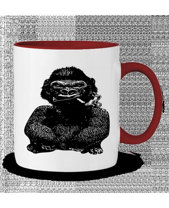 Mug en Céramique Bicolore Gorille David