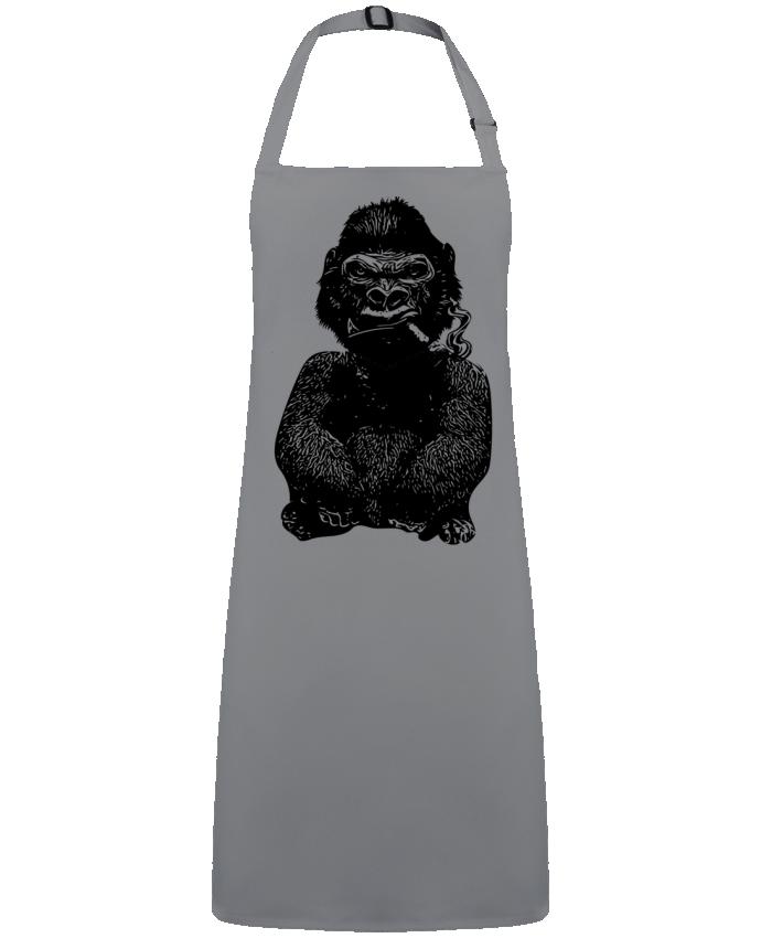 Tablier Sans Poche Gorille par  David