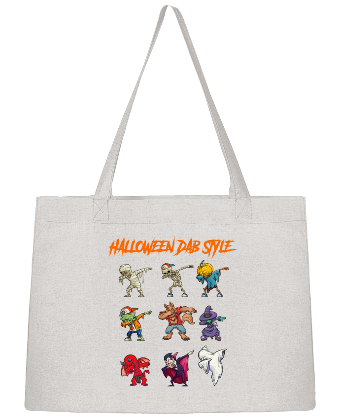 Sac Cabas Shopping Stanley Stella HALLOWEEN DAB STYLE par fred design