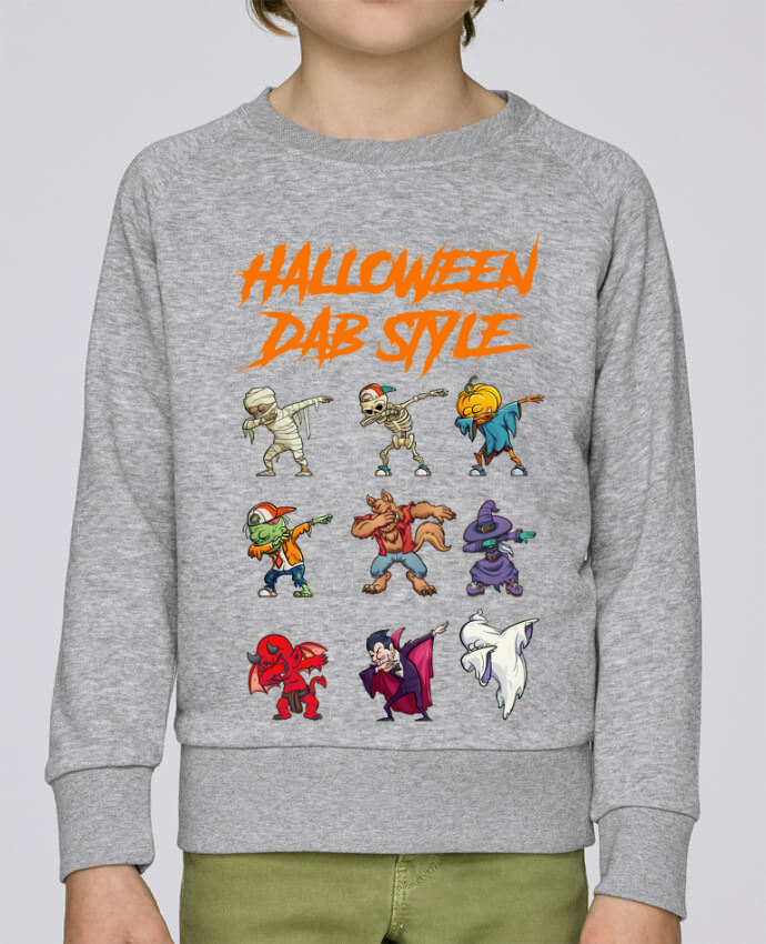 Sweat Col Rond Enfant Stanley Mini Scouts HALLOWEEN DAB STYLE par fred design